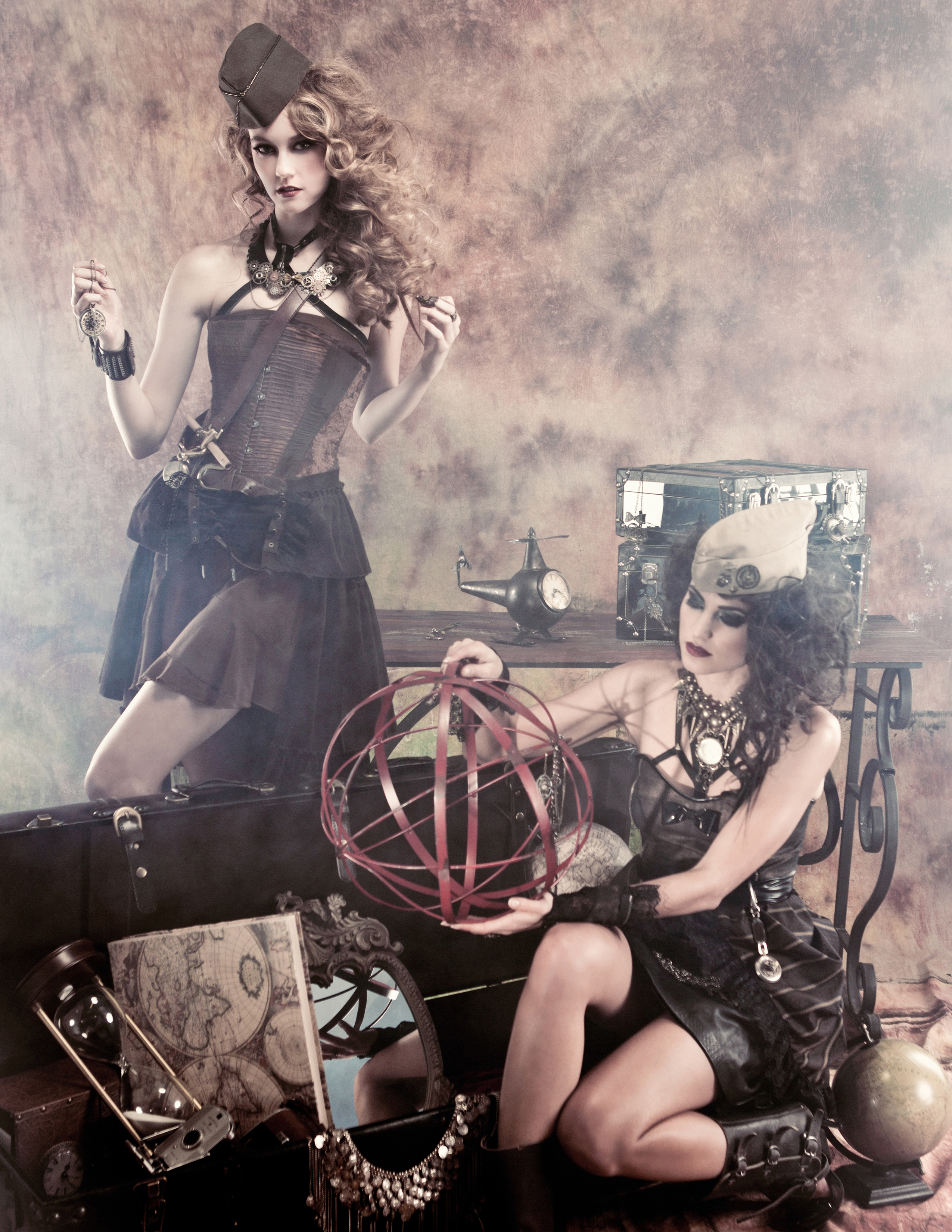 Steampunk Inspired Photoshoot Hazy Leather Chicago