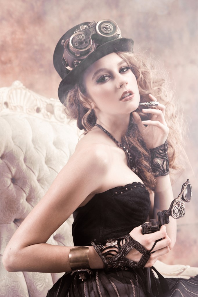 emily gualdoni photography steampunk photography for dark beauty magazine photo