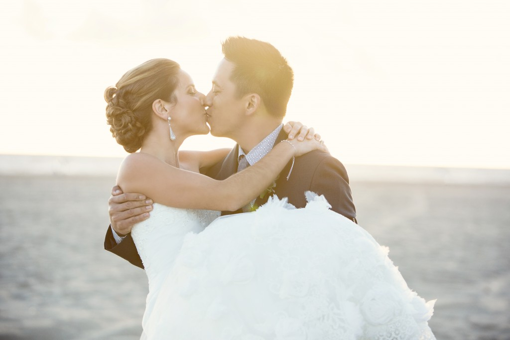 Beach Wedding In Santa Monica