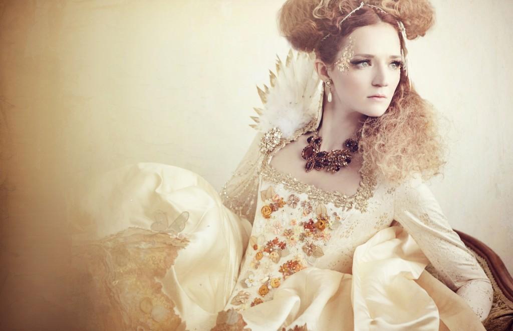 True Cinderella: A Rococo Inspired Shoot