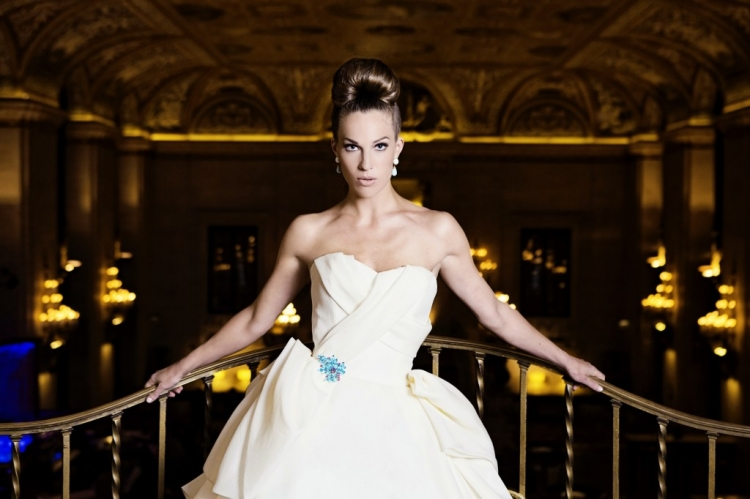 chicago wedding photography palmer house photo